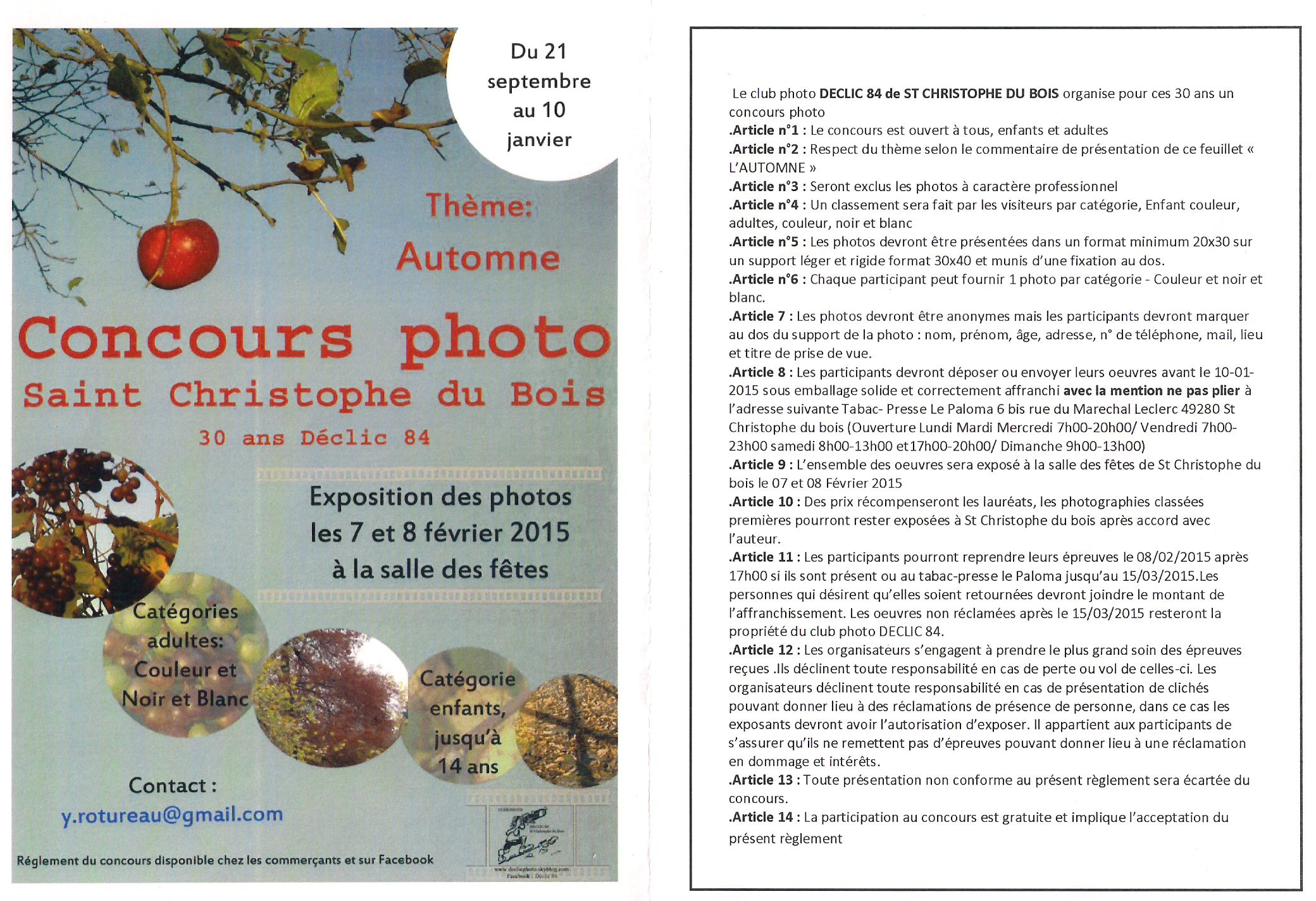 concours st Christophe