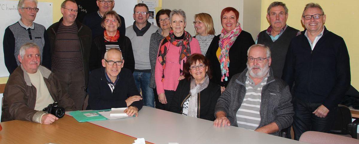Assemblée Générale du Photo-club de Chanteloup les Bois le 26 Janvier 2019